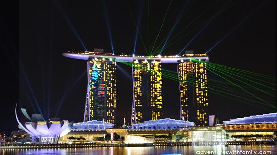 7000px wide High Resolution Singapore Marina Bay Sands Night ...