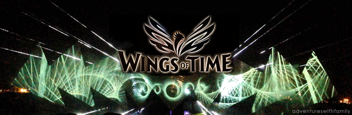 Wings of Time Show at Sentosa