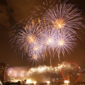 Fireworks at NDP 2015