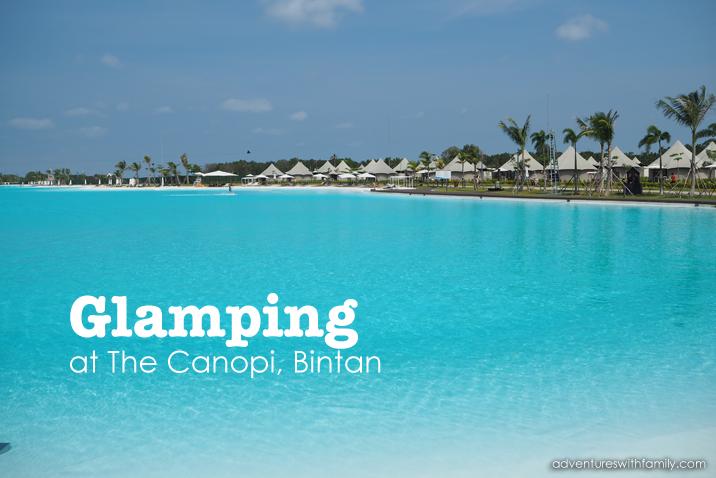 Glamping at The Canopi Resort, Bintan