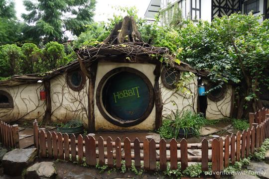 Hobbit house in Bandung