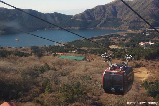 Lake Ashi Hakone in Winter