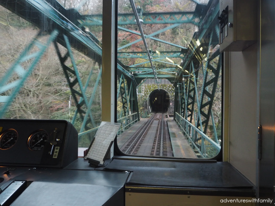 Train Tunnel Hakone in Winter