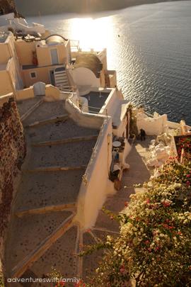 Oia Santorini in Winter