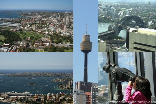 Sydney Tower and Darling Harbour