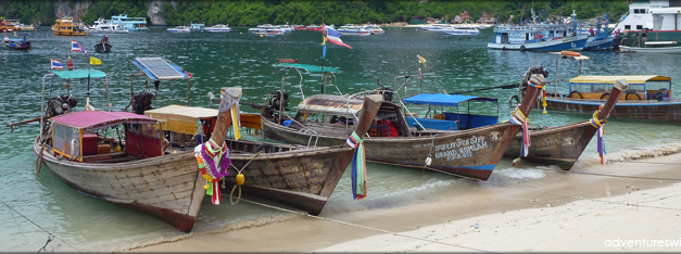 Phi Phi Island-hopping without the crowd