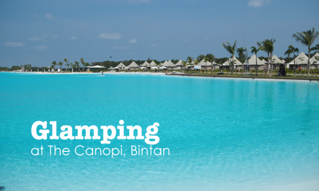 Glamping at The Canopi Resort, Bintan