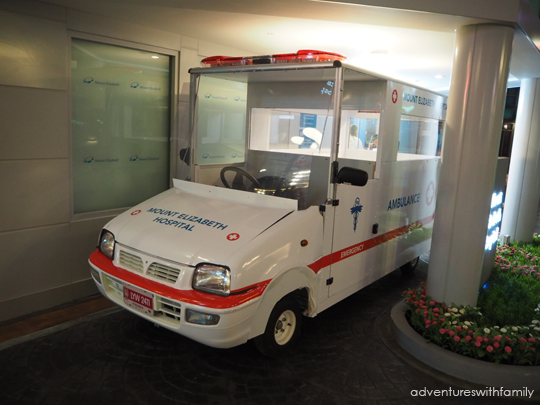 Kidzania Ambulance