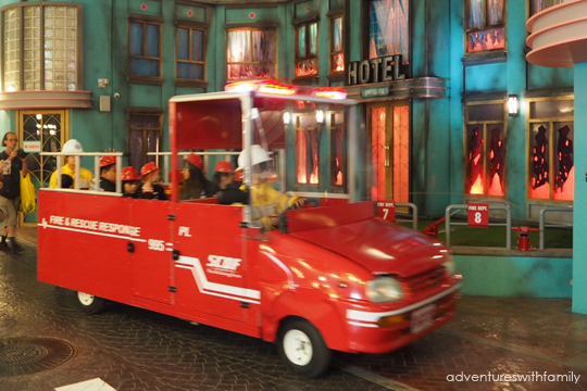 Kidzania-Fire Engine