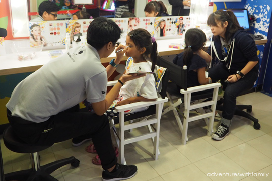 Kidzania Make-up