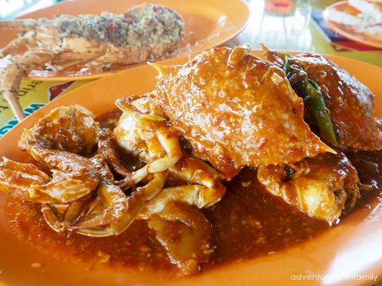 Seafood in Batam