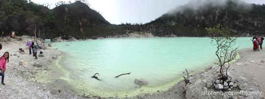 Crater lake Bandung